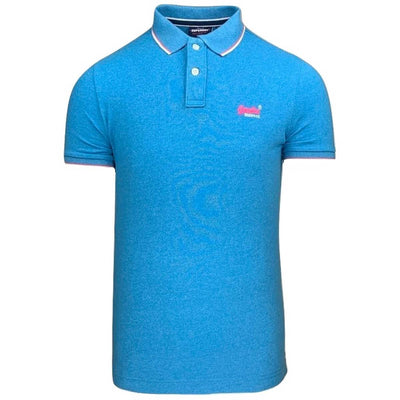 poolside pique polo | superdry | m1110013a u5u