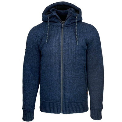 m2010497a oqt | expedition zip thru | navy jas | superdry | front
