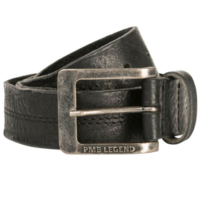Belt Leather Center Stich - Versteegh Jeans