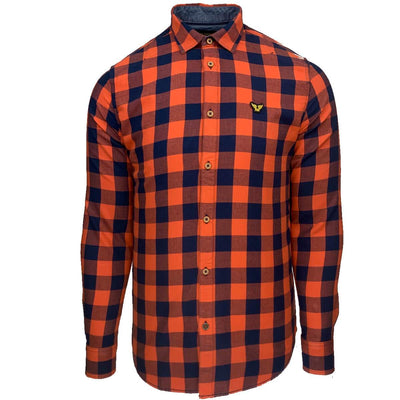 psi205228 2080 | long sleeve shirt twill check | pme legend | front