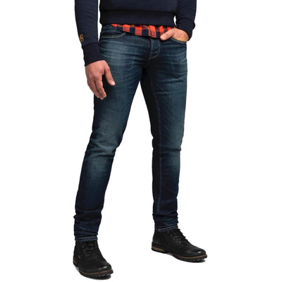 ptr150 dbd | comfort stretch denim xv dark blue denim | pme legend | front