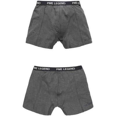 2-pack boxershorts Grey - Versteegh Jeans