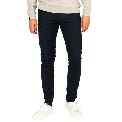 vtr205405 5117 | v7 slim dobby stretch pant navy | vanguard | front