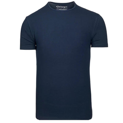 Body Fit O-Neck Navy - Versteegh Jeans