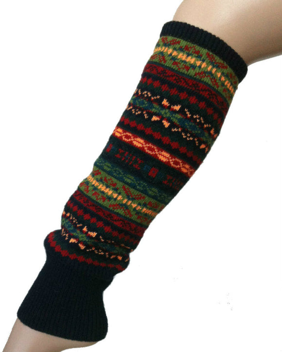 Thick Winter Leg Warmers, 5 colours