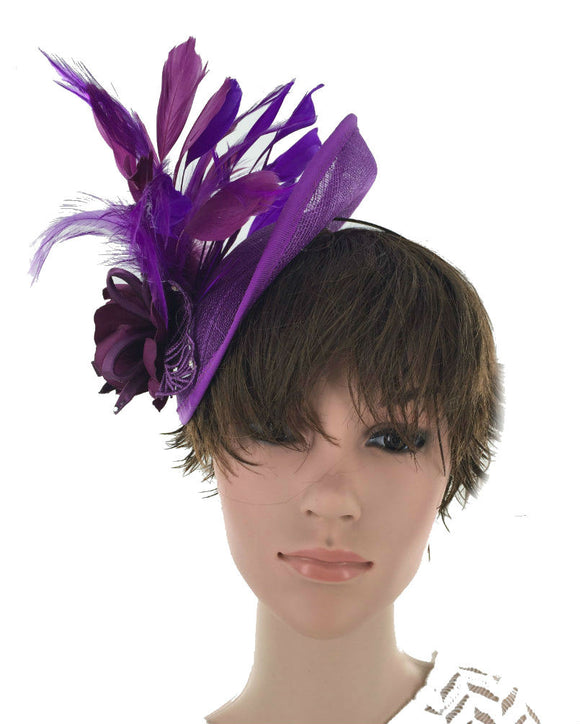 Occasion Disk Fascinator Hat Derby Hat 071603