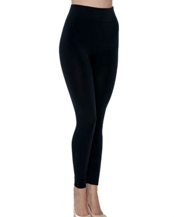 Fleece Lined Leggings, Black and more colors