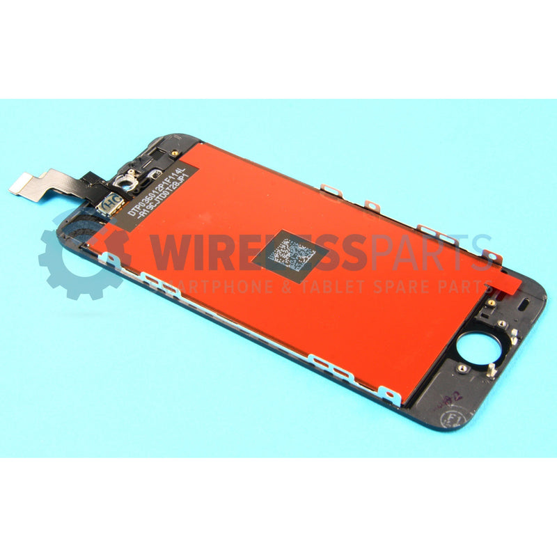 For iPhone 5S - Replacement LCD/Digitzer Screen - Black (High Quality)