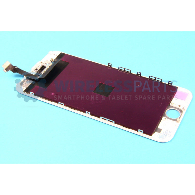 For iPhone 6 - Replacement LCD Screen - White (Original Apple LCD)