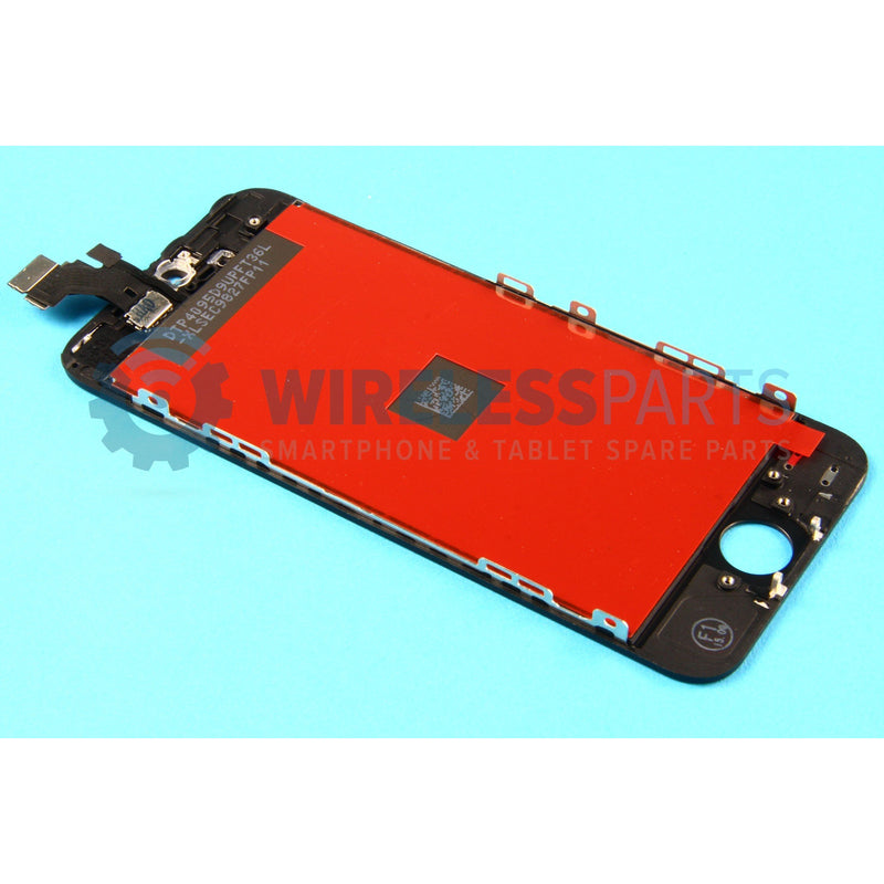 For iPhone 5 - Replacement LCD Screen - Black (High Quality)