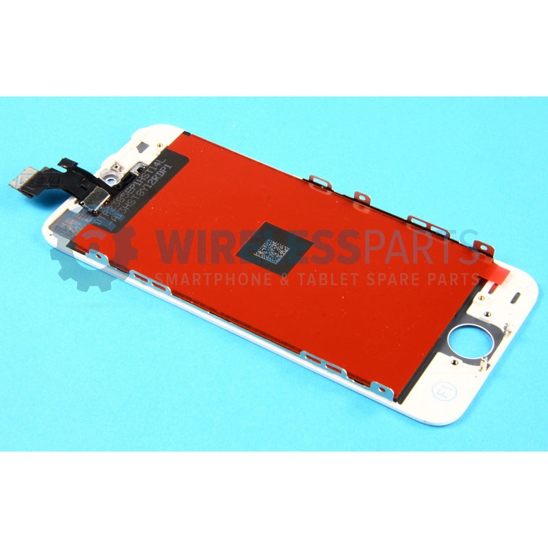 For iPhone 5S - Replacement LCD/Digitizer Screen, White (Original Apple LCD)