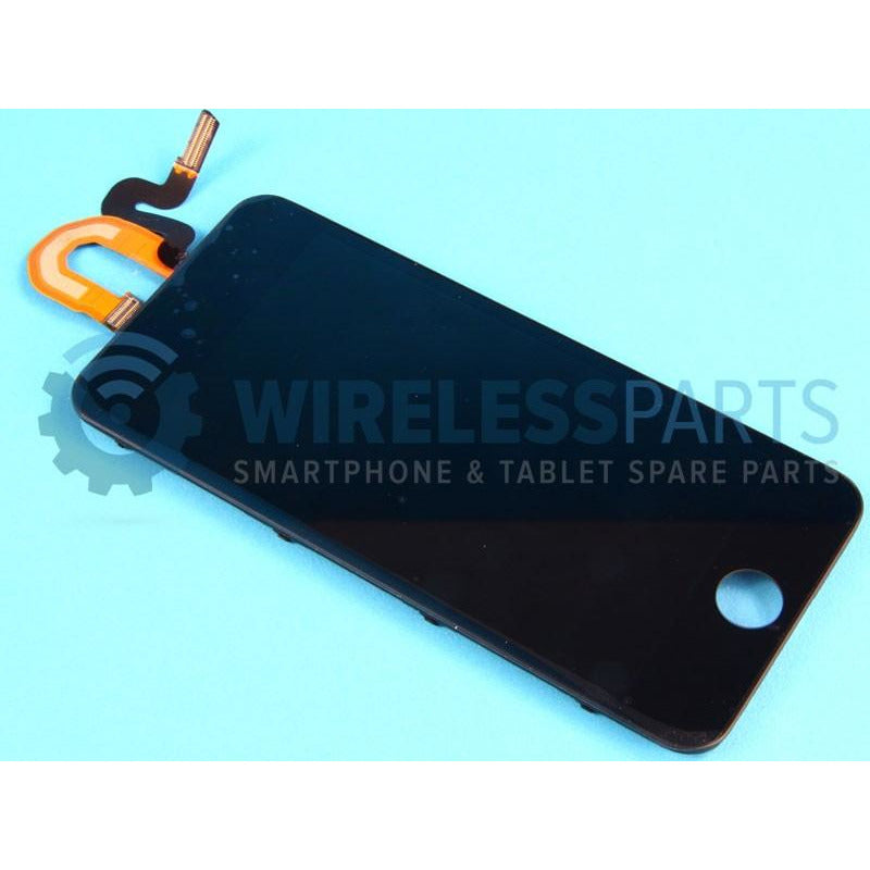 For iPod Touch 5 - Replacement LCD Screen with Frame, Black - OEM