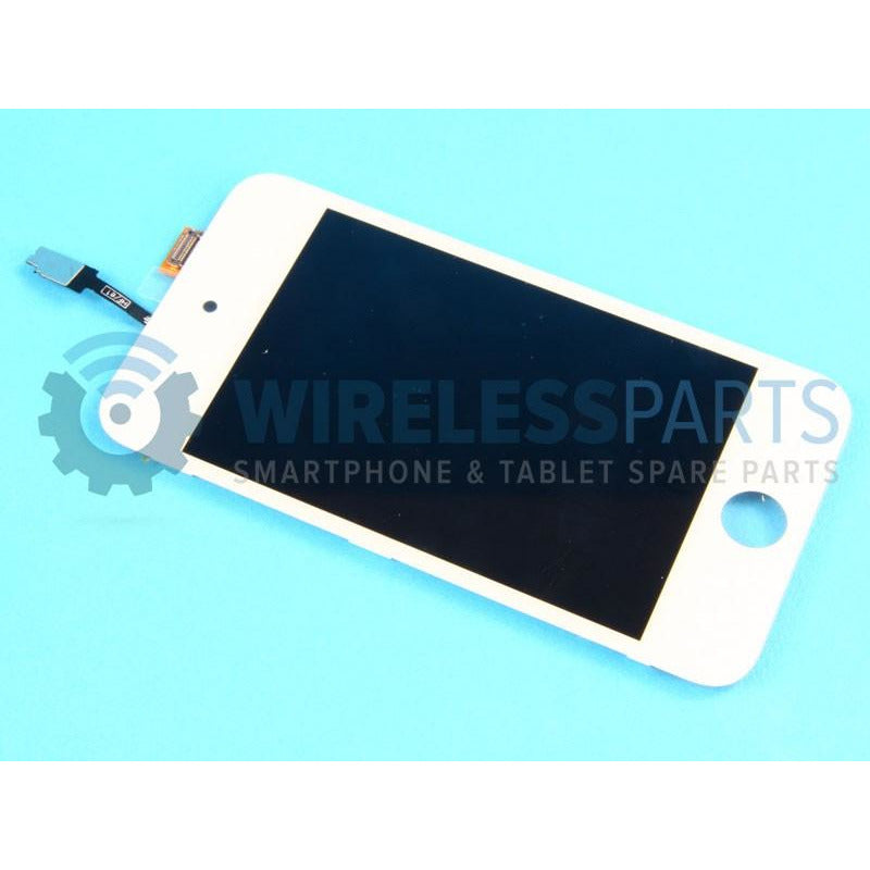 For iPod Touch 4 - Replacement LCD Screen - White