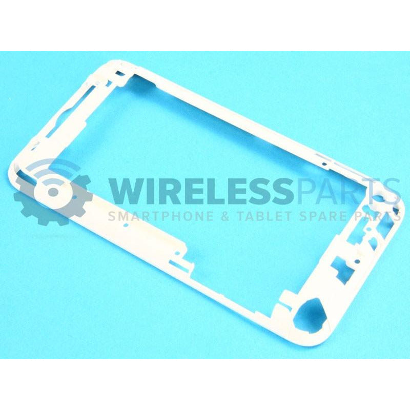 For iPod Touch 4 - Frame, White - OEM