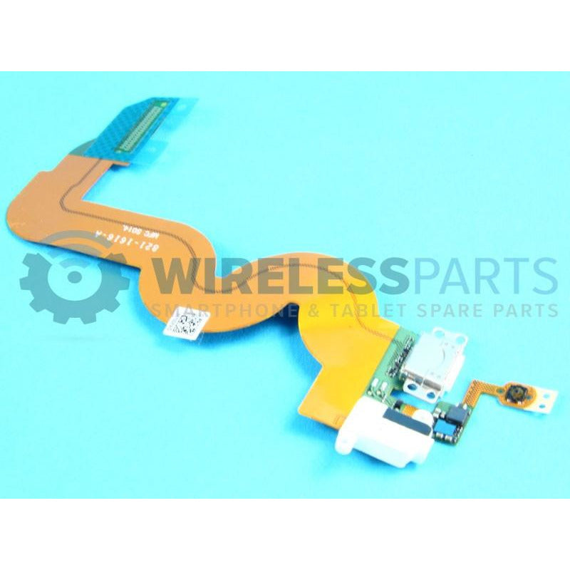 For iPod Touch 5 - Dock Connector Flex, White - OEM