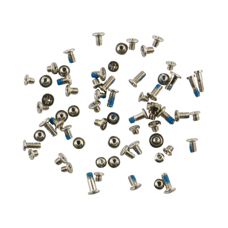 For iPhone 6 - Screw Set, Silver - OEM