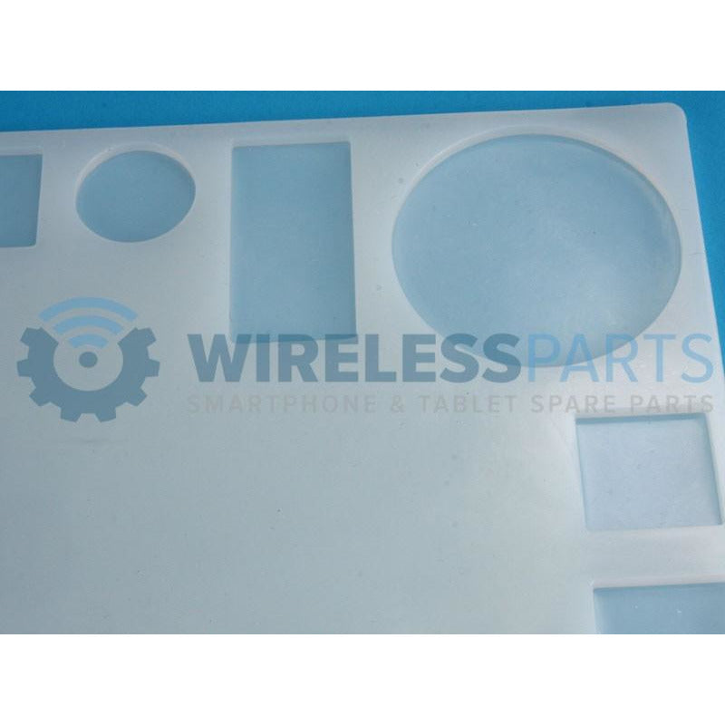 Silicone Repair Pad with Multiple Parts Sections