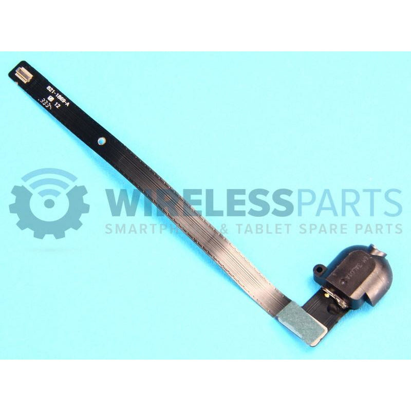 For iPad Air - Headphone Socket Flex, Black - OEM