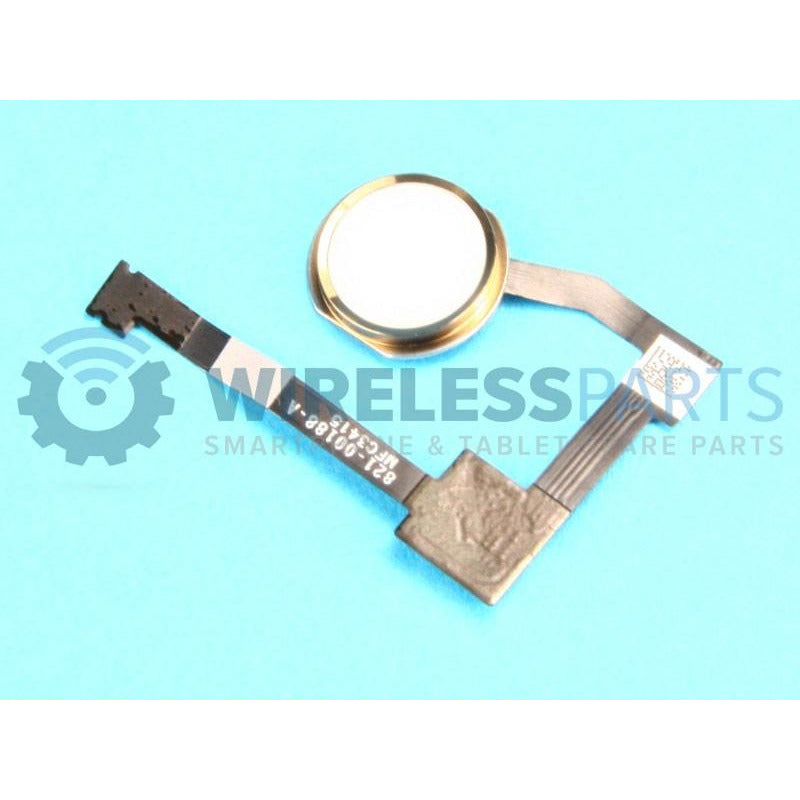 For iPad Air 2 - Home Button Assembly, Gold - OEM