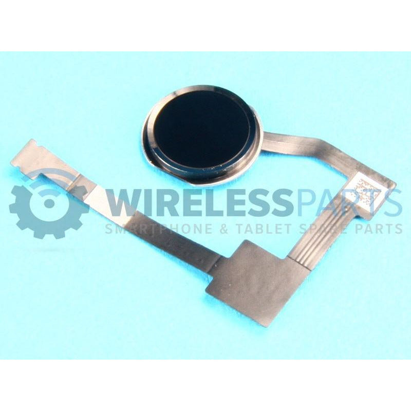 For iPad Air 2 - Home Button Assembly, Black - OEM