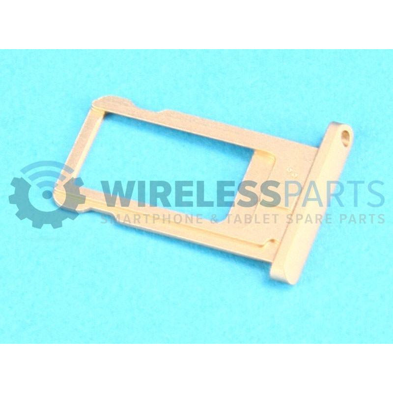 For iPad Air 2 - Sim Card Tray, Gold - OEM