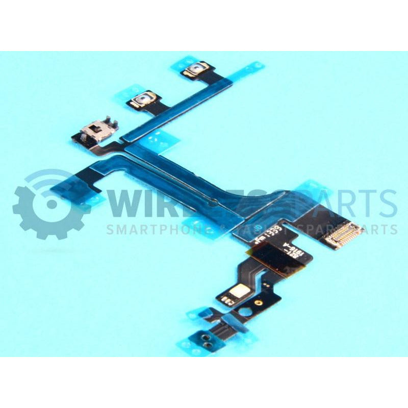 For iPhone 5C - Power, Volume, Mute Flex - OEM