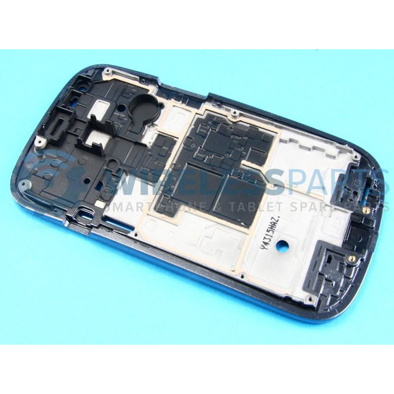For Samsung Galaxy S3 Mini - Front Frame (Blue) - OEM