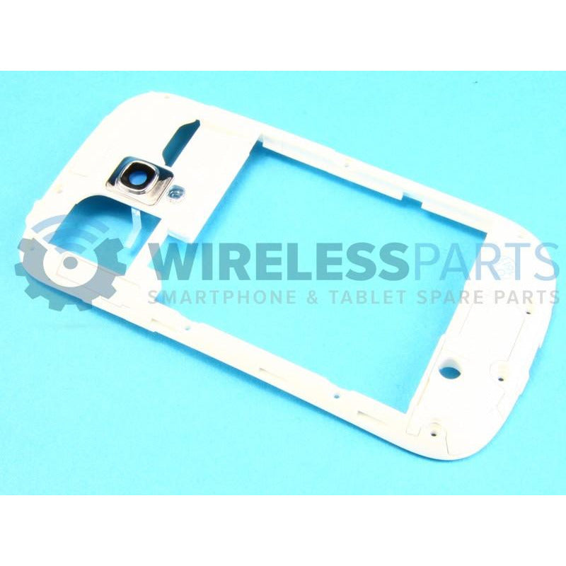 For Samsung Galaxy S3 Mini - Middle Frame (White) - OEM