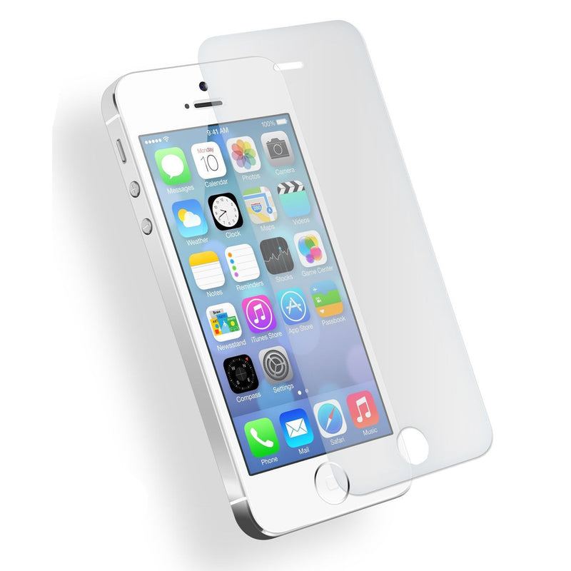 Genuine Tempered Glass Screen Protector For Apple iPhone 5, 5s, 5c & SE