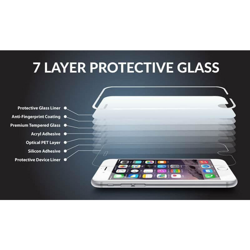 Genuine Tempered Glass Screen Protector For Apple iPhone 7+ Plus