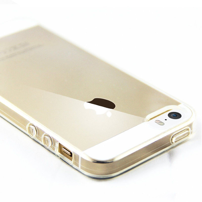 Thin Clear Plastic Case / Cover for iPhone 5, 5s, 5c, 6, 6s, 6s plus, 7