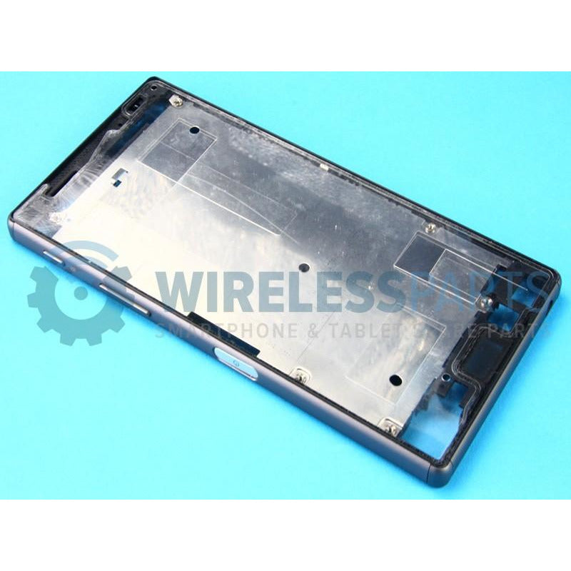 For Sony Xperia Z5 - Front Frame, Black - OEM