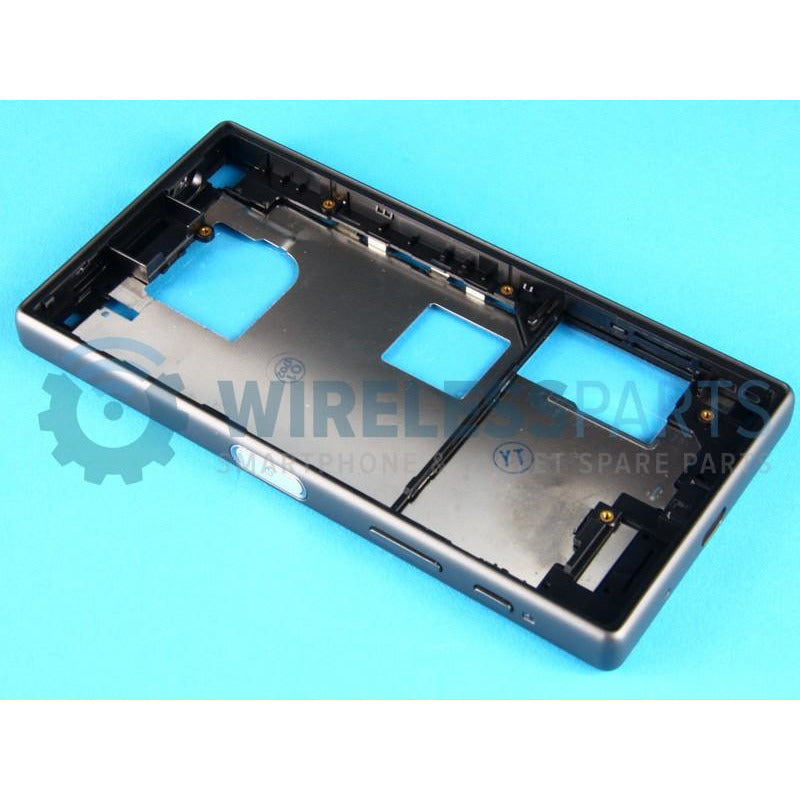 For Sony Xperia Z5 Compact - Front Frame, Black - OEM