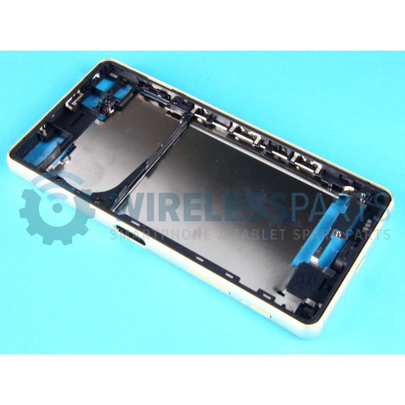 For Sony Xperia X / X Performance - Front Frame, Green - OEM