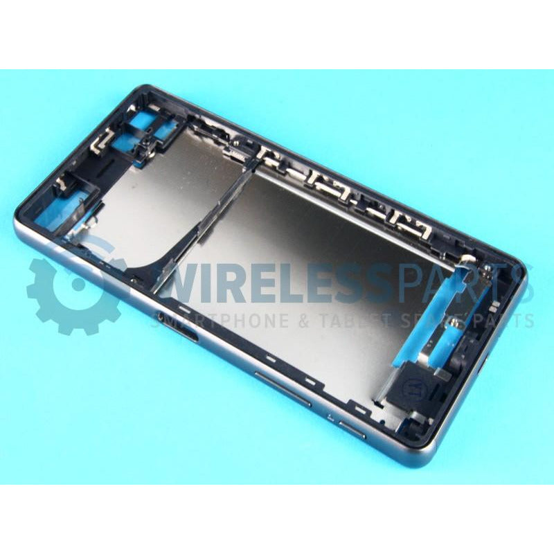 For Sony Xperia X / X Performance - Front Frame, Black - OEM