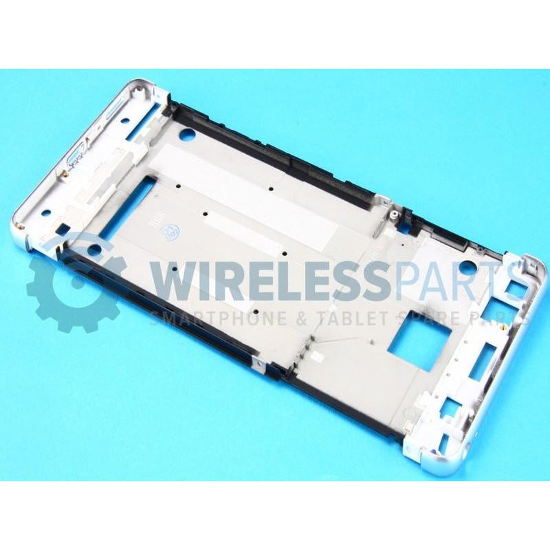 For Sony Xperia XA - Front Frame, Silver - OEM