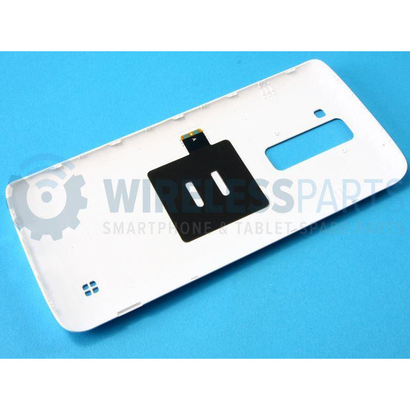 For LG K8 - Rear Battery / Back Cover with NFC Antenna, White