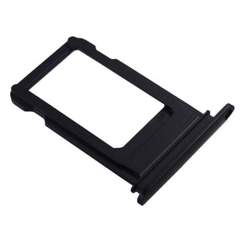 "For iPhone 7 (4.7"") SIM Card Tray, Matt Black - OEM"