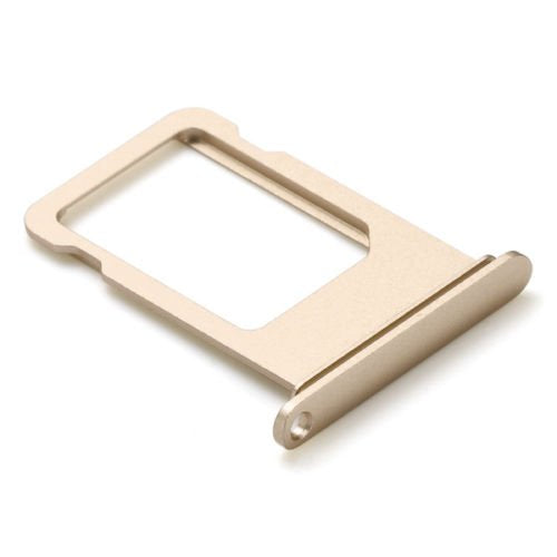 "For iPhone 7 (4.7"") SIM Card Tray, Gold - OEM"