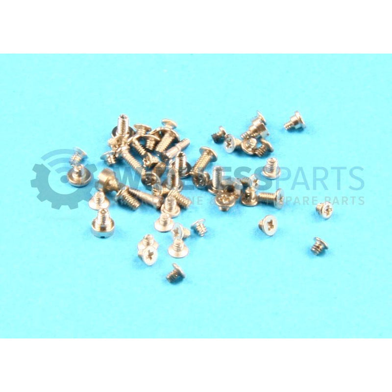 For iPhone 5S / SE - Screw Set, Silver - OEM