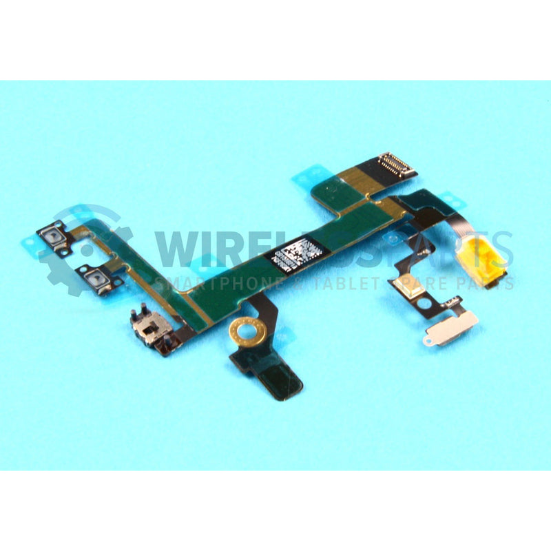 For iPhone 5S - Volume, Power, Silent Flex - OEM