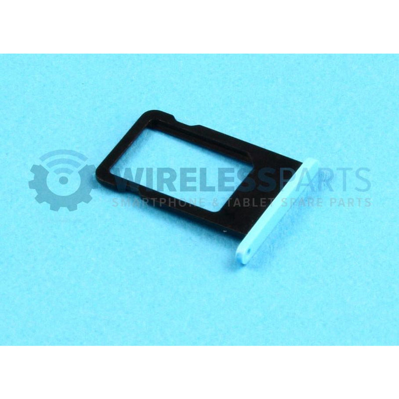 For iPhone 5C - Sim Tray, Blue - OEM