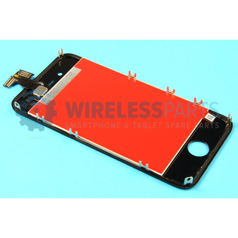 For iPhone 4 - Replacement LCD Screen - Black (High Quality)