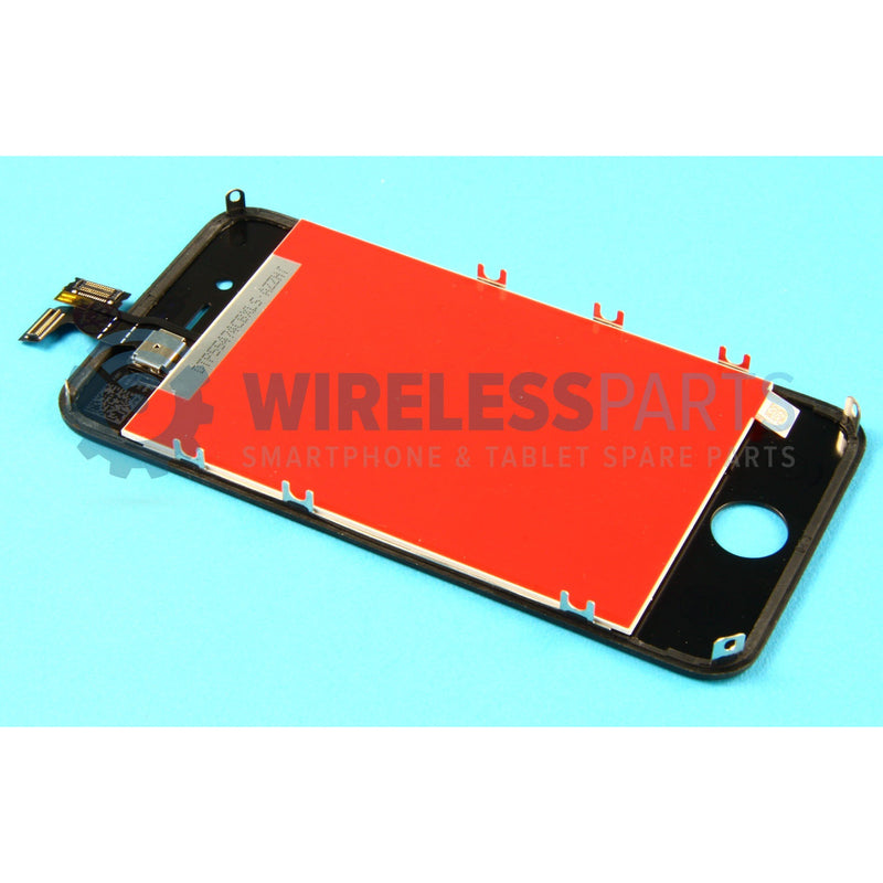 For iPhone 4S - Replacement LCD Screen - Black (High Quality)