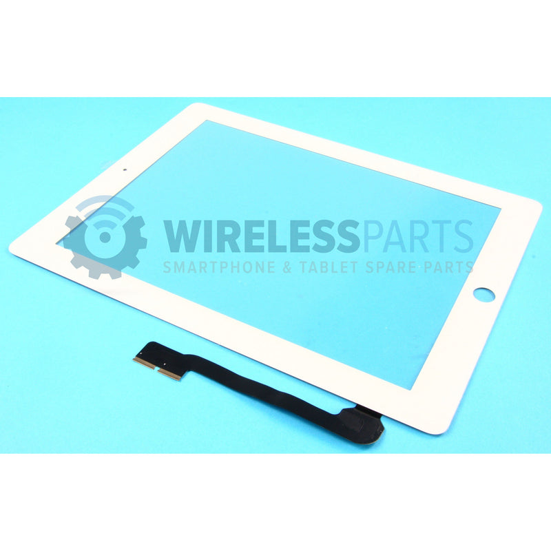 For iPad 3 & 4 - Digitizer Touch Screen - White