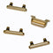 "iPhone 8 (4.7"") Replacement Button Set with Rubber Spacers (Gold) - Original (Grade A)"