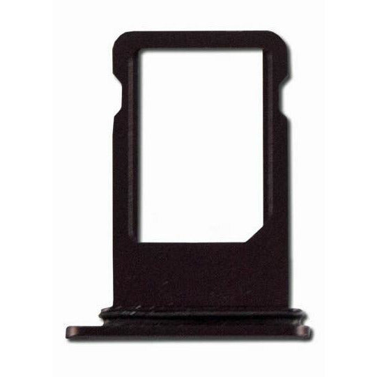 "iPhone 8 Plus (5.5"") Replacement SIM Card Tray - Black - Original (Grade A)"