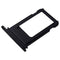 "iPhone 8 (4.7"") Replacement SIM Card Tray (Matt Black) - Original (Grade A)"