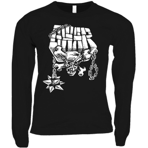Skull and Mace Long Sleeve Shirts