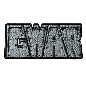 GWAR Steel Logo Embroidered Patch